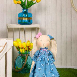 Խաղալիք,ինտերյերային տիկնիկ-նապաստակ,դեկոր