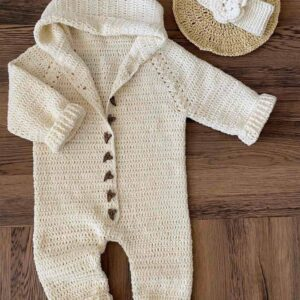 Baby cotton overalls from 0-12 months