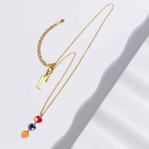 Hearts of Armenia Necklace by Anet's Collection