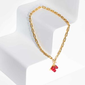 Pomegranate seeds bracelet by Anet's Collection