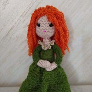 Croched doll-Կարմրահեր տիկնիկ