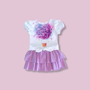 PARACHUTE WITH FLOWERS DRESS