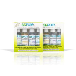 SoPure Spray Hand Sanitizer 80% USP Grade Ethyl Alcohol Multipack