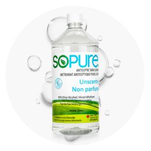 SoPure Spray Hand Sanitizer 80% USP Grade Ethyl Alcohol