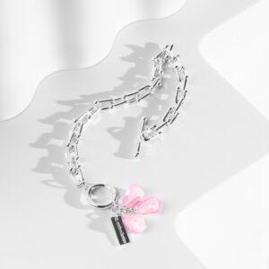 Pomegranate Pink seed bracelet