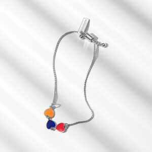Hearts of Armenia Bracelet in Silver by Anet's Collection